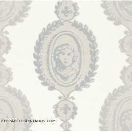 Papel Pintado COSSY WHITE 268842