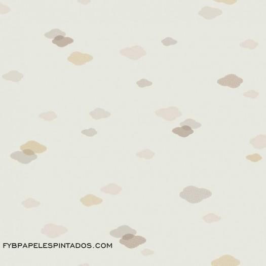 Papel Pintado NUBE BEIGE/GRIS