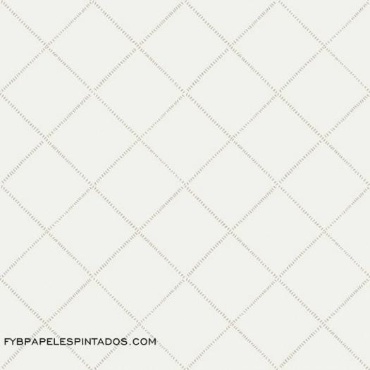 Papel Pintado ROMBOS GRIS