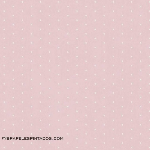 Papel Pintado LUNARES ROSA