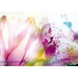 Fotomural LIGHT FLOWERS FT-0125