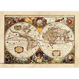Fotomural OLD WORLD MAP FTM-0486