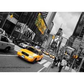 Fotomural YELLOW CAB FTM-0826