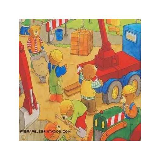 Papel Pintado BAMBINO 123326