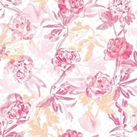 Papel Pintado ROSES PINK 012
