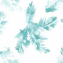 Papel Pintado PALMERAS BLUE 041