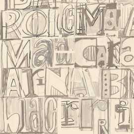 Papel Pintado LLETRAS I TIPOS [R003]
