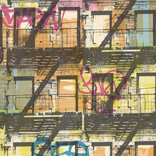 Papel Pintado GRAFFITI 01